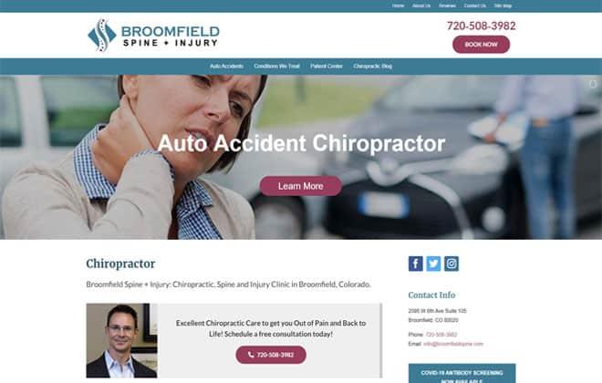 Broomfield Spine + Injury