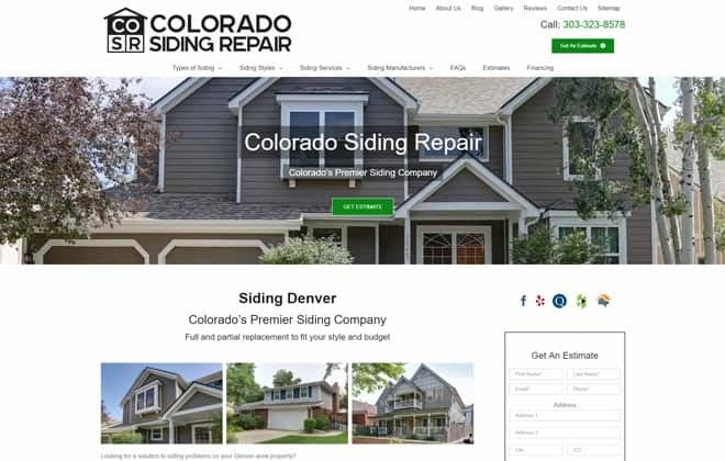Colorado Siding Repair