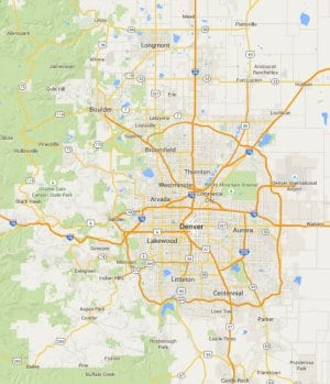 Denver Web Success Service Areas