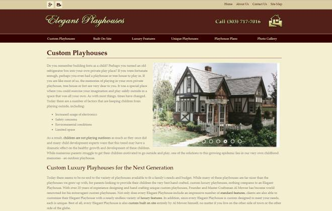 Elegant Playhouses