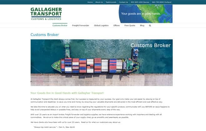 Gallagher Transport International Inc.
