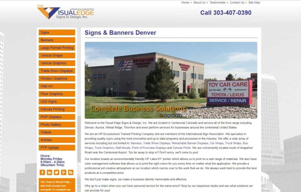 Visual Edge Signs & Design